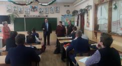 Преподаватели физмата провели встречи в гимназии № 1 г. Жодино